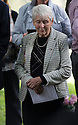 """11/06/16<br /> <br /> Dorris Innes, (niece).<br /> <br /> One hundred years have passed since Private Charles Gordon Shaw was fatally wounded in the Battle of the Somme, but today is the first day his family have been able to grieve at his graveside.<br /> <br /> Full Story: https://fstoppressblog.wordpress.com/private_charles_shaw/<br /> <br /> <br /> That's because his grave was """"lost"""" during a changeover in church vicars and when the Commonwealth War Graves Commission tried to place a headstone on his plot in 1926, the new vicar was unable to tell them where the body was buried.<br /> <br /> But today, thanks to detective work by his  niece, 83-year-old Dorris Innes from Spondon, together with an amateur historian who located the 'lost' grave, Private Shaw's family were finally able to pay their respects to the war hero, with a commemorative service at his grave, exactly 100 years to the day since he was buried at Christ Church in Stonegravels, Chesterfield.<br /> <br /> All Rights Reserved, F Stop Press Ltd."""