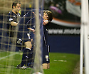 Dundee's Jim McAlister celebrates after the first goal.