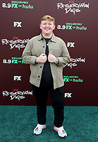 """TULSA, OK - AUGUST 2: Jack Maricle attends the Red Carpet Event for the Series Premiere of FX's """"Reservation Dogs"""" at Circle Cinema on August 2, 2021 in Tulsa, Oklahoma. (Photo by Tom Gilbert/FX/PictureGroup)"""