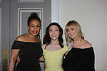 Figure Skating in Harlem celebrates 20 years - Champions in Life benefit Gala on May 2, 2017 at 583 Park Avenue, New York City, New York. Attending are Meryl Davis, JoJo Starbuck. (Photo by Sue Coflin/Max Photos)