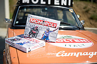 "Monopoly Belgium introduces a Cycling Edition of it's world famous board game at a press conference in the Sven Nys Cycling centre in Baal (BEL) called '""Monopoly Koers/Course"" and uses many of cycling's most known landmarks/race courses as the games 'real estate'.<br /> Patrons (and play box cover boys) are Philippe Gilbert and Remco Evenpoel.<br /> <br /> The game will be available as of late 2020.<br /> <br /> ©kramon"