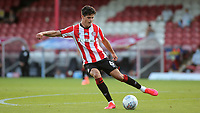 Christian Norgaard of Brentford in action during Brentford vs Barnsley, Sky Bet EFL Championship Football at Griffin Park on 22nd July 2020
