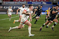 26 February 2021; James Hume during the Guinness PRO14 match between Ulster and Ospreys at Kingspan Stadium in Belfast. Photo by John Dickson/Dicksondigital