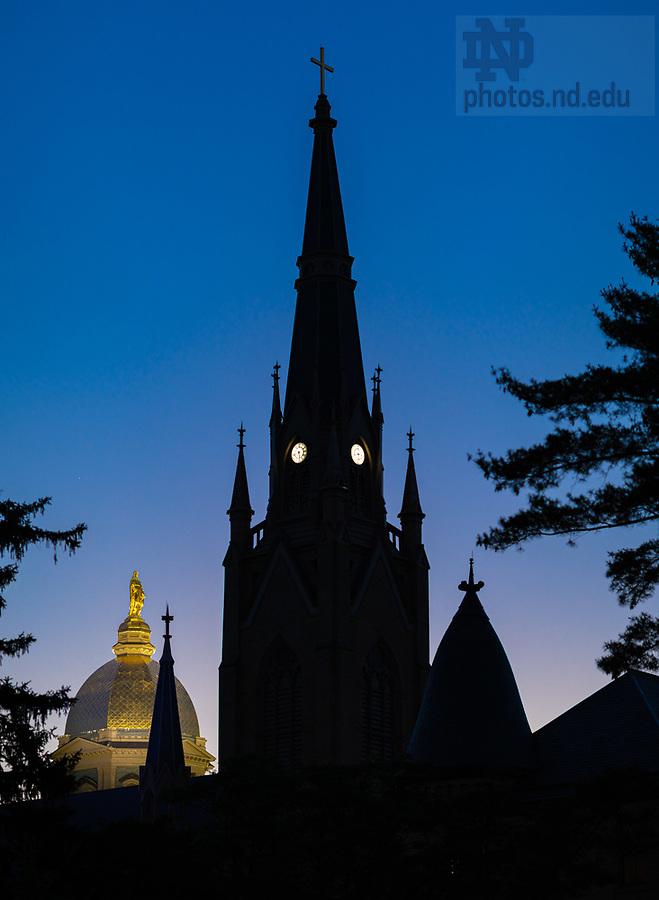 June 18, 2020; Sunrise (Photo by Matt Cashore/University of Notre Dame)