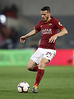 Football, Serie A: AS Roma - Parma, Olympic stadium, Rome, May 26, 2019. <br /> Roma's Alessandro Florenzi in action during the Italian Serie A football match between Roma and Parma at Olympic stadium in Rome, on May 26, 2019.<br /> UPDATE IMAGES PRESS/Isabella Bonotto