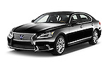 2016 Lexus LS 600h L 4 Door Sedan Angular Front stock photos of front three quarter view