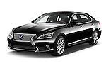 2016 Lexus LS 600h L 4 Door Sedan Angular Front stock photos of front three quarter view
