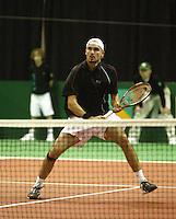 18-2-06, Netherlands, tennis, Rotterdam, ABNAMROWTT, Qualifying round, Dominic Meffert