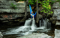 Photographer Jan Halgrim / Lake Ann Falls
