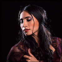 Portrait of Flamenco dancer