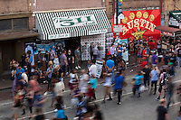 The combination of SXSW, St. Patrick's Day and a full moon created an epic bash on 6th Street in Austin, Texas!