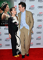 """LOS ANGELES, USA. November 17, 2019: Erin Doherty & Josh O'Connor at the gala screening for """"The Crown"""" as part of the AFI Fest 2019 at the TCL Chinese Theatre.<br /> Picture: Paul Smith/Featureflash"""
