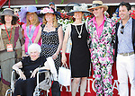 Scenes from around the track on Jim Dandy Stakes Day on August 1, 2015 at Saratoga Race Course in Saratoga Springs, New York. (Bob Mayberger/Eclipse Sportswire)