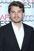 """HOLLYWOOD, CA - NOVEMBER 12: Emile Hirsch at the AFI FEST 2013 - """"Lone Survivor"""" Premiere held at TCL Chinese Theatre on November 12, 2013 in Hollywood, California. (Photo by David Acosta/Celebrity Monitor)"""