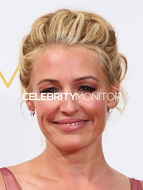 LOS ANGELES, CA, USA - AUGUST 25: Cat Deeley arrives at the 66th Annual Primetime Emmy Awards held at Nokia Theatre L.A. Live on August 25, 2014 in Los Angeles, California, United States. (Photo by Celebrity Monitor)