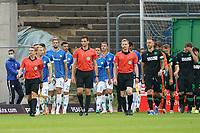 Mannschaften laufen ein<br /> <br /> - 28.08.2021 Fussball 2. Bundesliga, Saison 21/22, SV Darmstadt 98 vs Hannover 96, Stadion am Boellenfalltor, emonline, emspor, <br /> <br /> Foto: Marc Schueler/Sportpics.de<br /> Nur für journalistische Zwecke. Only for editorial use. (DFL/DFB REGULATIONS PROHIBIT ANY USE OF PHOTOGRAPHS as IMAGE SEQUENCES and/or QUASI-VIDEO)