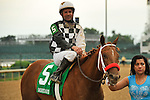 Flashy Lassie with Kent Desormeaux  up wins the G3 Dubutante Stakes at Churchill Downs in Louisville, Kentucky Saturday, June 25, 2011.