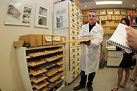 le laboratoire d expertises medico legale du SVPM  en Juin 2014 lors de son centenaire<br /> <br /> <br /> Quebec Police forensic lab in Montreal invite the medias for its 100 anniversary<br /> <br /> PHOTO :   AGENCE QUEBEC PRESSE