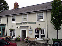 2018 09 26 The Checkers restaurant, Powys, Wales, UK