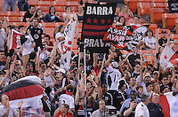DC United fans.  DC United defeated The Kansas City Wizards  2-0 at RFK Stadium, Wednesday  May 5, 2010.