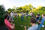 Impromptu Concert in Ladd's Park, SE Portland, Oregon