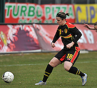 France U19 - Belgium U19 : Maria Laura Aga Martinez.foto DAVID CATRY / Nikonpro.be