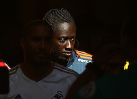 Eder of Swansea   during the Barclays Premier League match Watford and Swansea   played at Vicarage Road Stadium , Watford