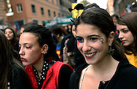 Manifestazione nazionale contro la violenza maschile sulle donne, a Roma, 22 novembre 2008..National rally against male violence on women in Rome, 22 november 2008..UPDATE IMAGES PRESS/Riccardo De Luca