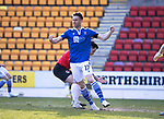 St Johnstone v Clyde…17.04.21   McDiarmid Park   Scottish Cup<br />Guy Melamed celebrates his goal<br />Picture by Graeme Hart.<br />Copyright Perthshire Picture Agency<br />Tel: 01738 623350  Mobile: 07990 594431
