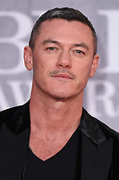 Luke Evans<br /> arriving for the BRIT Awards 2019 at the O2 Arena, London<br /> <br /> ©Ash Knotek  D3482  20/02/2019<br /> <br /> *images for editorial use only*