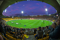 A general view of the A-League football match between Wellington Phoenix and Western United FC at Sky Stadium in Wellington, New Zealand on Saturday, 22 May 2021. Photo: Dave Lintott / lintottphoto.co.nz