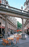 London: Sicilian Avenue--1905--a mall, or pedestrian street between Bloomsbury Way and Southampton Row.