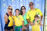 Actio photo during the match Brasil vs Ecuador, at Rose Bowl Stadium Copa America Centenario 2016. ---Foto  de accion durante el partido Brasil vs Ecuador, En el Estadio Rose Bowl, Partido Correspondiante al Grupo -B-  de la Copa America Centenario USA 2016, en la foto:: Sponsors<br /> <br /> --- 04/06/2016/MEXSPORT/ German Alegria.