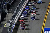 2017 NASCAR Monster Energy Cup - Can-Am Duels<br /> Daytona International Speedway, Daytona Beach, FL USA<br /> Thursday 23 February 2017<br /> Denny Hamlin, FedEx Express Toyota Camry and Austin Dillon<br /> World Copyright: Russell LaBounty/LAT Images<br /> ref: Digital Image 17DAY2rl_02658
