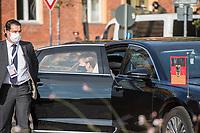 """Oekumenischer Gottesdienst unter dem Motto """"Wir miteinander"""" zum 30. Tag der Deutschen Einheit in der St. Peter und Paul-Kirche in Potsdam am Samstag den 3. Oktober 2020.<br /> Im Bild: Bundeskanzlerin Angela Merkel (CDU).<br /> 3.10.2020, Berlin<br /> Copyright: Christian-Ditsch.de"""