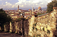 Italy,Florence. View of the cit