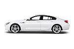 Driver side profile view of a 2012 Bmw SERIES 6 Gran Coupe 640i 4 Door Sedan 2WD