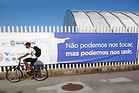 Rio de Janeiro (RJ), 10/05/2020 - Covid-19-Rio -  Hospital de Campanha RJ - Hospital de campanha de Jacarepagua,que sera inaugurado amanha para tratar pacientes de coronavirus. Os 200 leitos serao erguidos no espaco onde ficava o Parque dos Atletas.,zona oeste da cidade do Rio de Janeiro, neste domingo (10) (Foto: Alexandre Durao/Codigo 19/Codigo 19)