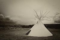 Nez Perce Spirits - Big Hole Battlefield - Montana