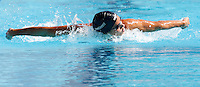 Trofeo Settecolli di nuoto al Foro Italico, Roma, 14 giugno 2013.<br /> Zsuzsanna Jakabos, of Hungaria, competes in the women's  200 meters butterfly at the Sevenhills swimming trophy in Rome, 14 June 2013.<br /> UPDATE IMAGES PRESS/Isabella Bonotto