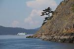 San Juan Islands, Washington State Ferry, Lopez Island, Spencer spit, Washington State, Pacific Northwest, United States, North America, USA,