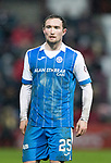 Hearts v St Johnstone…03.02.18…  Tynecastle…  SPFL<br />Chris Kane<br />Picture by Graeme Hart. <br />Copyright Perthshire Picture Agency<br />Tel: 01738 623350  Mobile: 07990 594431