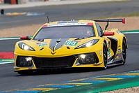 #63 Corvette Racing Chevrolet Corvette C8.R LMGTE Pro, Antonio Garcia, Jordan Taylor, Nicky Catsburg, 24 Hours of Le Mans , Qualifying Practice , Circuit des 24 Heures, Le Mans, Pays da Loire, France