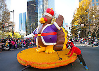 Novant Health Thanksgiving Day Parade  - Over 100,000 people gathered along Tryon Street in Uptown Charlotte, NC for the Novant Health Thanksgiving Day Parade. The parade celebrates the official start of the Christmas season in downtown Charlotte, NC.<br /> <br /> Charlotte Photographer - PatrickSchneiderPhoto.com