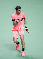 Rotterdam, The Netherlands, 16 Februari, 2018, ABNAMRO World Tennis Tournament, Ahoy, Tennis, Grigor Dimitrov (BUL), <br /> <br /> Photo: www.tennisimages.com
