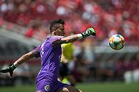 Santa Clara, CA - Saturday, July 20, 2019: Benfica defeated Chivas 3-0 as part of the North America leg of the 2019 International Champions Cup at the Levi's Stadium in Santa Clara, California.