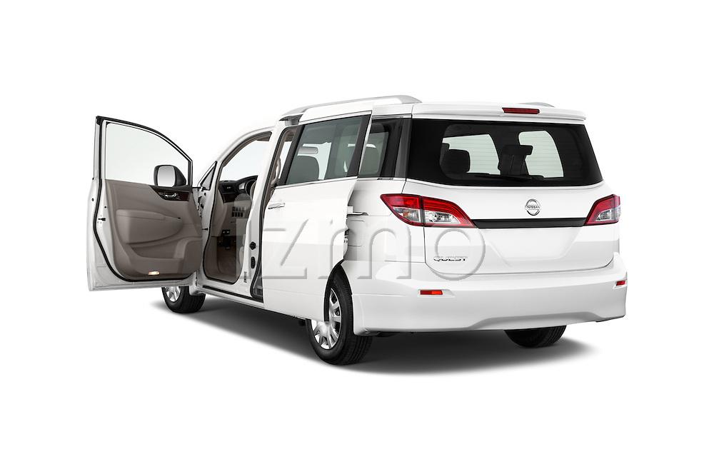 Car images close up view of 2015 Nissan Quest s 5 Door Mini Van doors