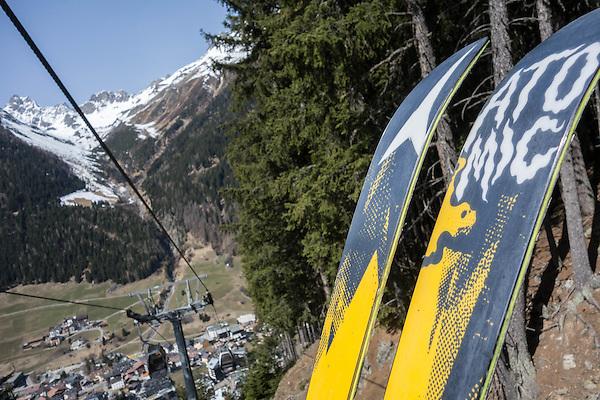 Town of Ischgl Ski Area, Austria