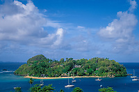 Young Island, next to Saint Vincent, St Vincent and the Grenadines, West Indies (Eastern Caribbean Sea)