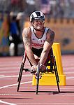 Josh Cassidy, Toronto 2015 - Para Athletics // Para-athlétisme.<br /> Josh Cassidy competes in the Men's 800m T54 Final // Josh Cassidy participe à la finale du 800 m T54 masculin. 13/08/2015.